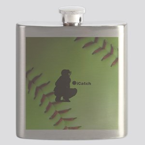 iCatch Fastpitch Softball Flask